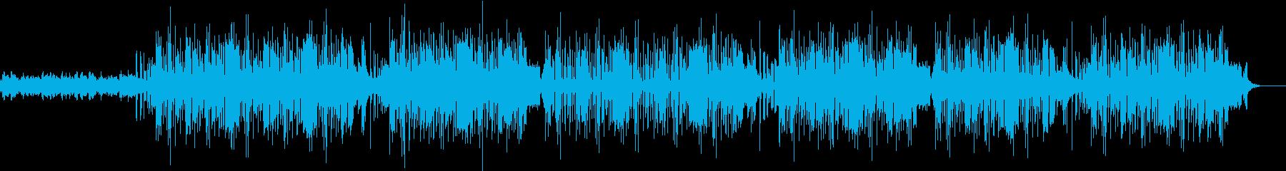 洗練の和風ヒップホップの再生済みの波形