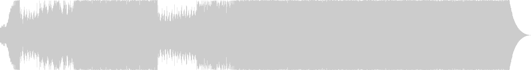 シネマティック、近未来、エレクトロ、3の未再生の波形