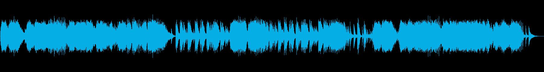 ドビュッシー『アラベスク第1番』の再生済みの波形