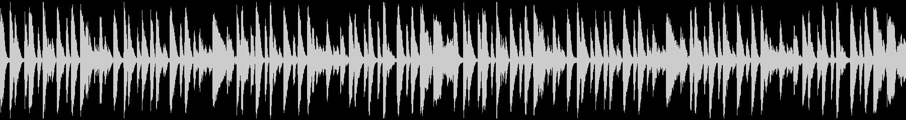 まったりホンキートンクピアノ_ループの未再生の波形