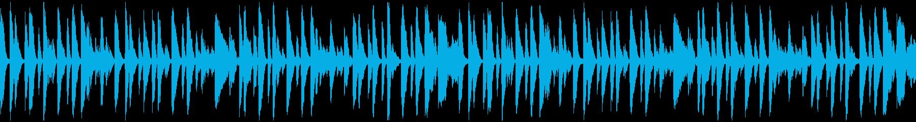 まったりホンキートンクピアノ_ループの再生済みの波形