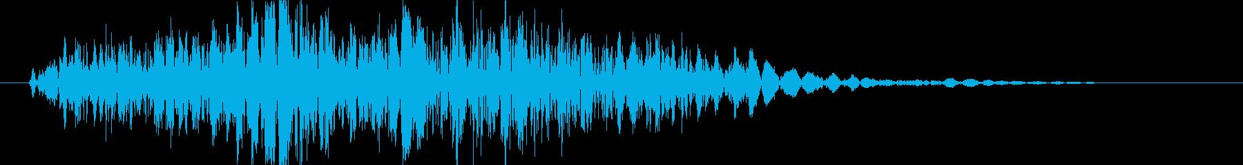 パンチやキックに最適な打撃音!05Lの再生済みの波形