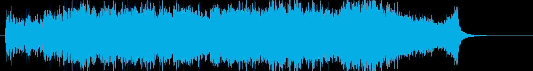 壮大、感動のオーケストラOPハーフbの再生済みの波形