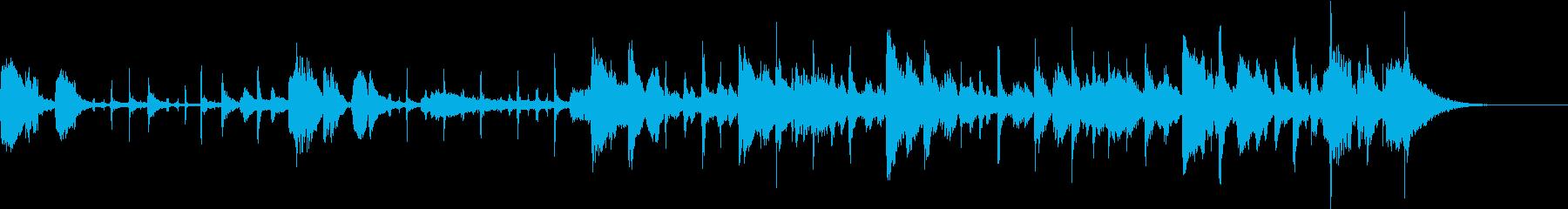 和楽器のジャズのオシャレなコラボの再生済みの波形