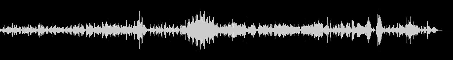生ピアノソロ・コスモス畑の未再生の波形