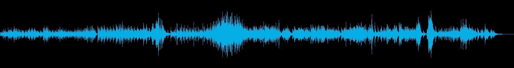 生ピアノソロ・コスモス畑の再生済みの波形