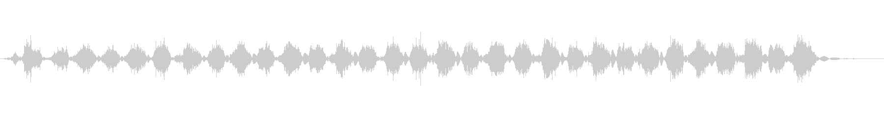 大根をすりおろす音の未再生の波形