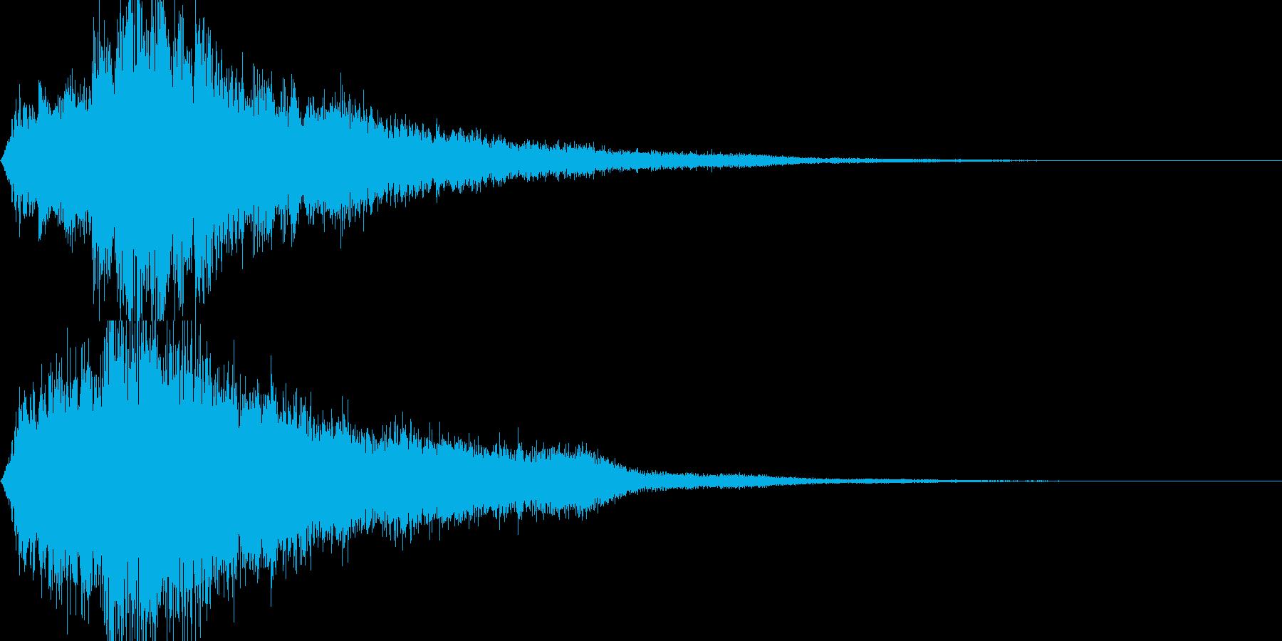 魔法18(回復・光・防御・補助系)の再生済みの波形