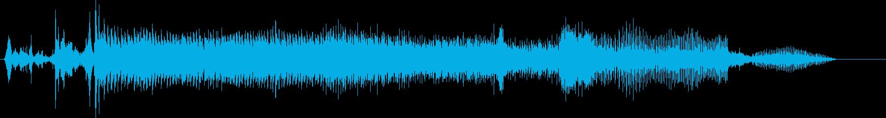 自動車;スタート/アウェイ;モーガ...の再生済みの波形