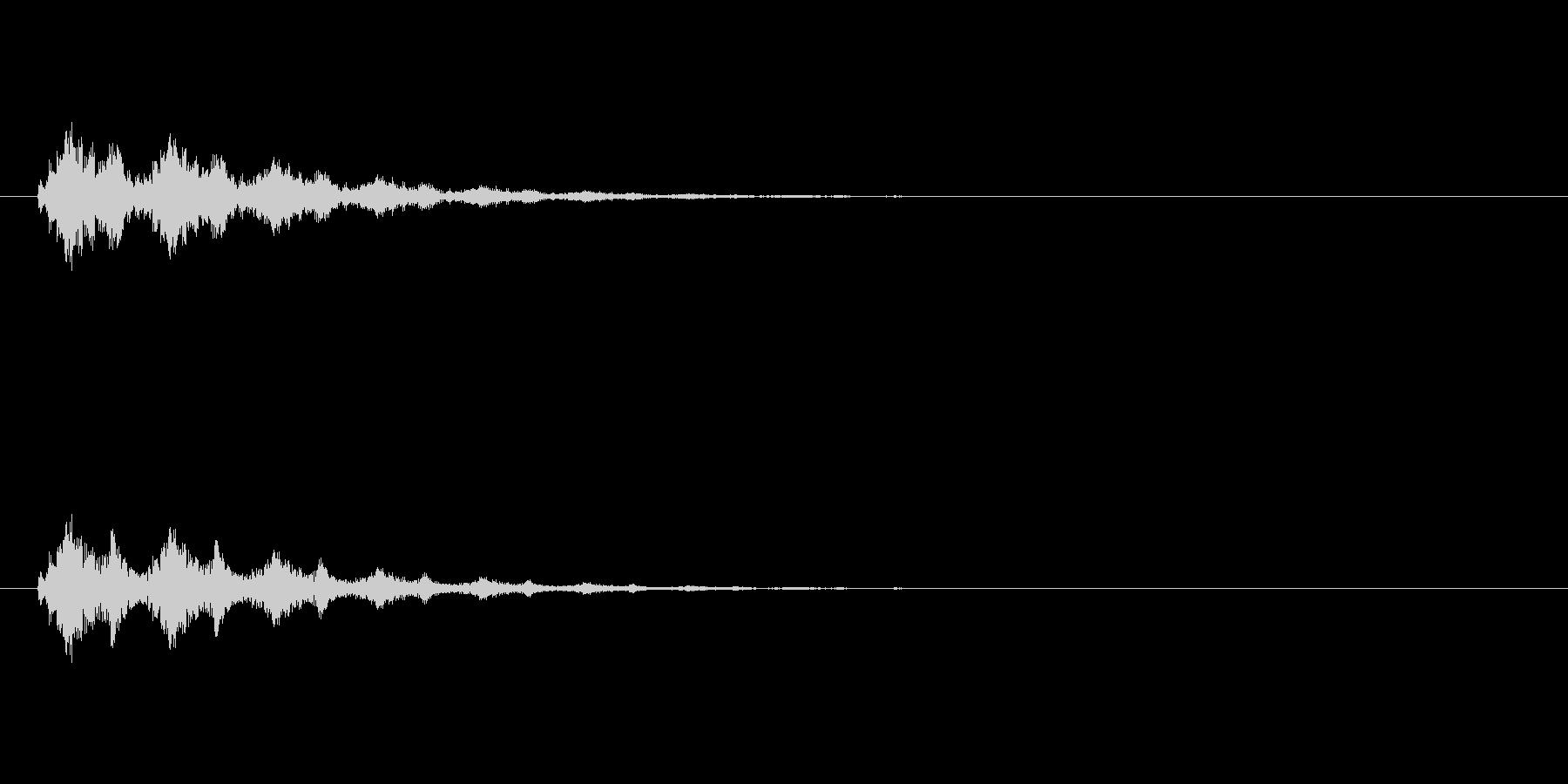 【スポットライト01-2】の未再生の波形