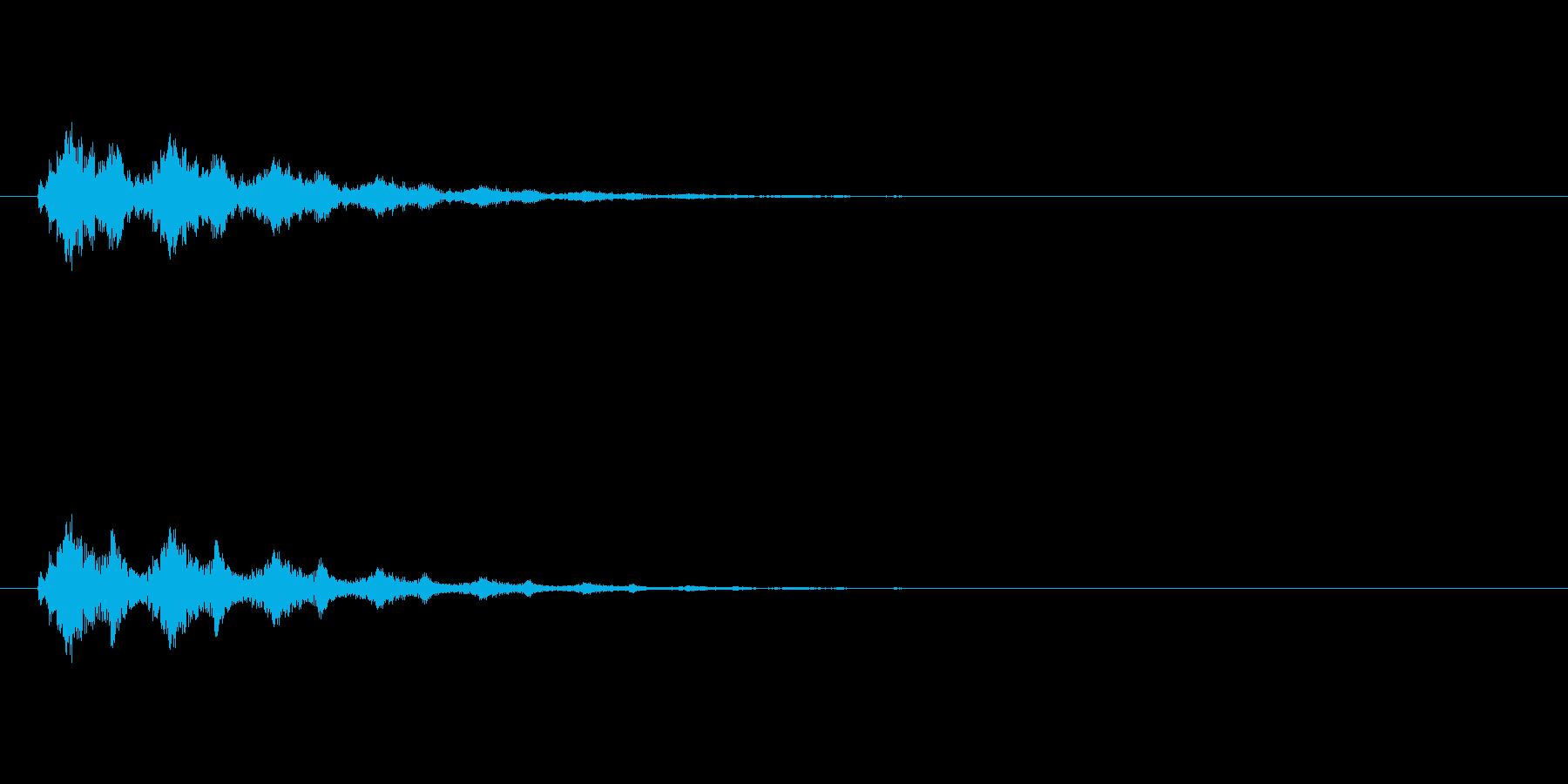 【スポットライト01-2】の再生済みの波形