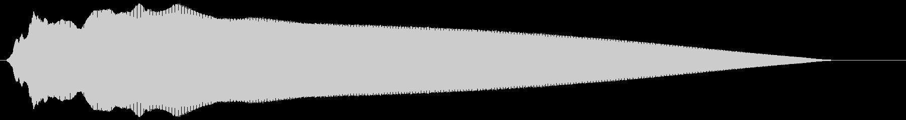 レゲエホーン (高く、短め)の未再生の波形