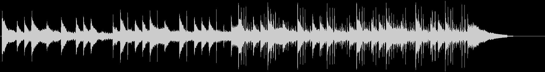 和楽器を使ったほのぼの和風エレクトロの未再生の波形