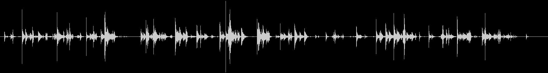 シングルジングルベルが鳴るの未再生の波形