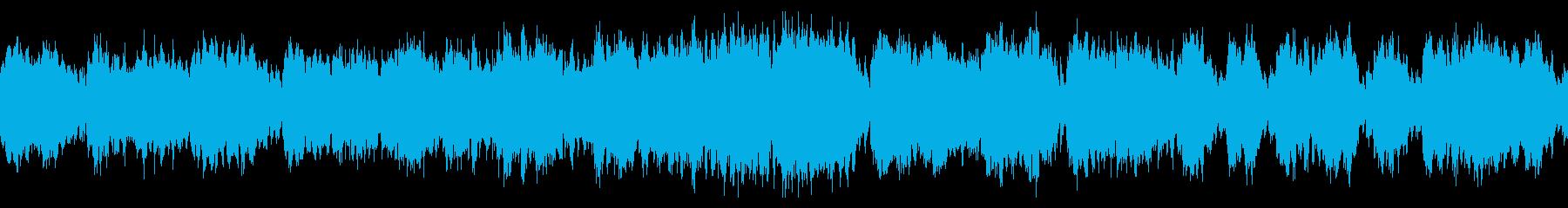 華やかな城下町オーケストラ曲 ループの再生済みの波形