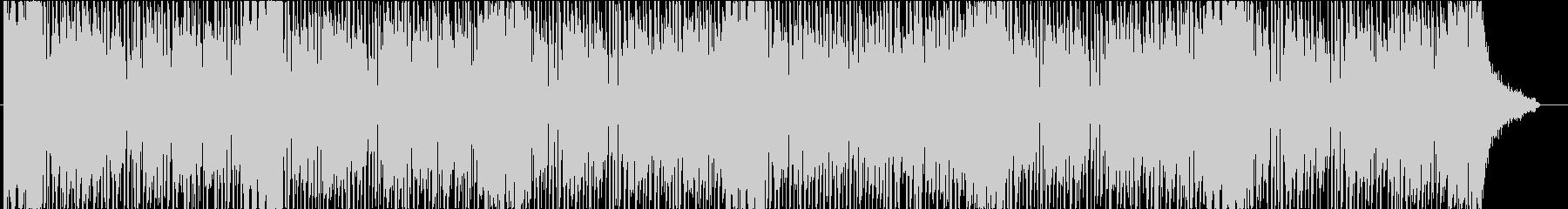 爽やかなドライブをイメージしたBGMの未再生の波形