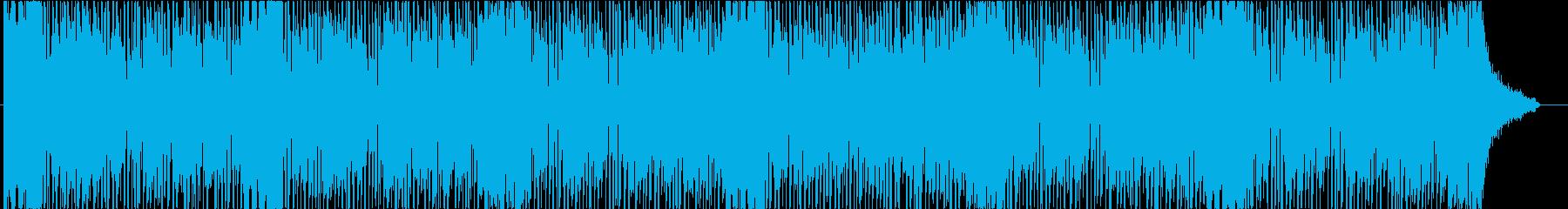 爽やかなドライブをイメージしたBGMの再生済みの波形