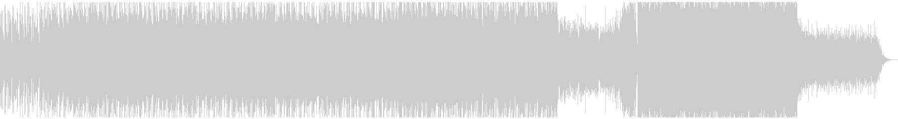かっこいい かわいい 切ない エレクトロの未再生の波形