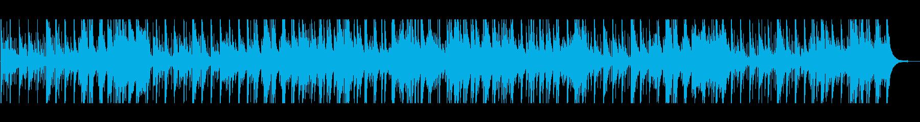 エレガントなジャズワルツの再生済みの波形