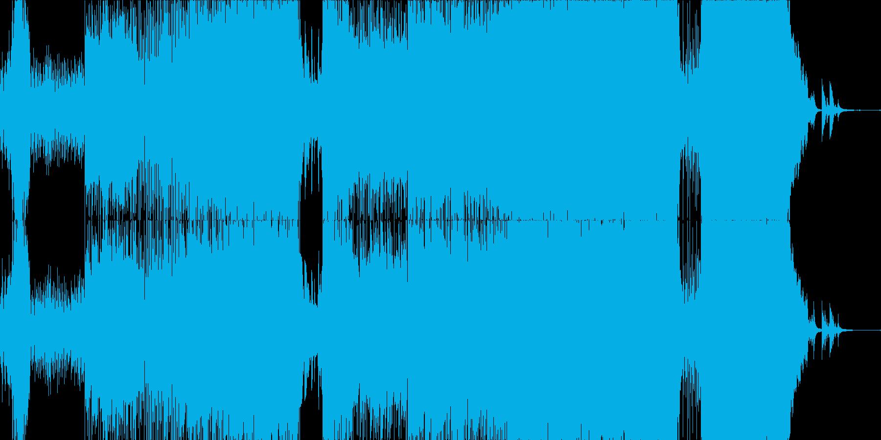 感動系ロックバラード・インスト版の再生済みの波形