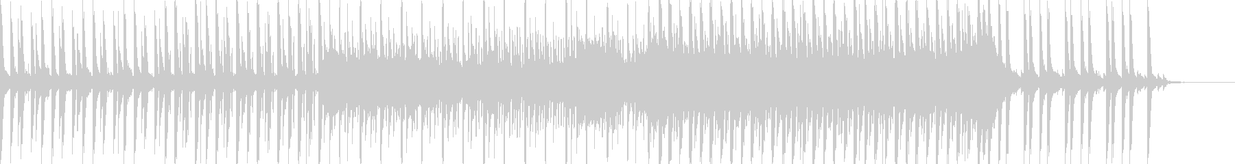 映像に、落ち着いたFuturePop1bの未再生の波形
