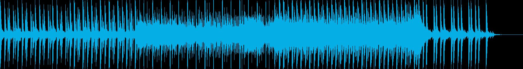 映像に、落ち着いたFuturePop1bの再生済みの波形