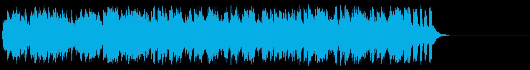 明るく爽やかなポップス(イントロ~サビ)の再生済みの波形