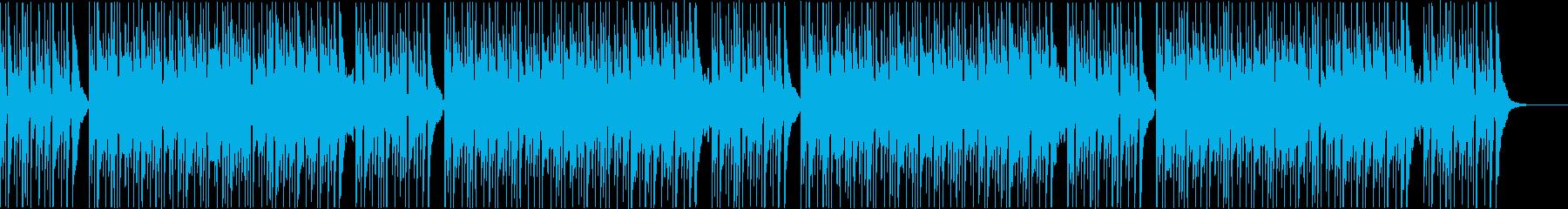 リラックス癒しのフルートとアコギBGMの再生済みの波形