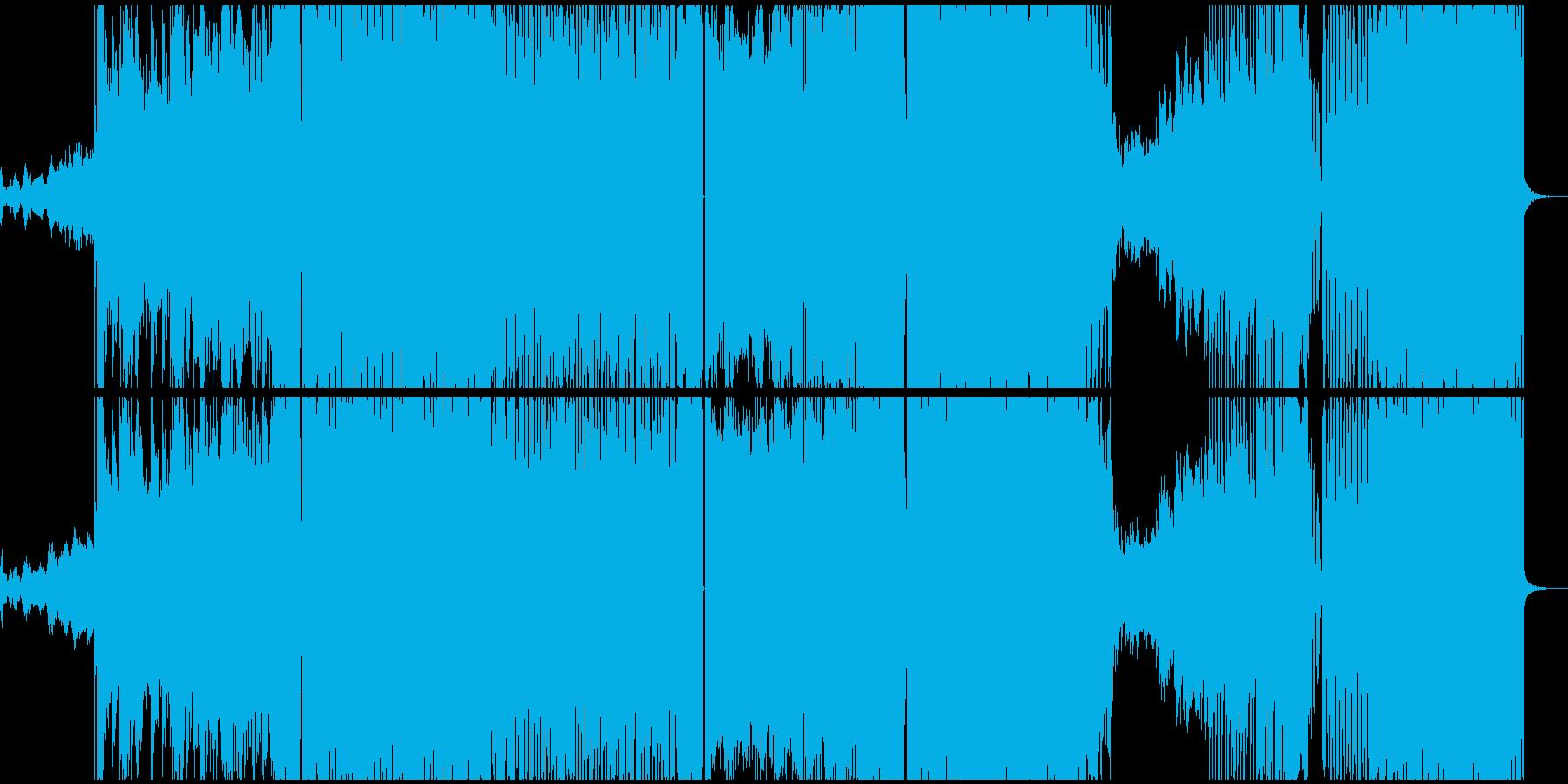 プロが作曲House music 上質系の再生済みの波形