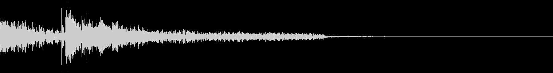 将棋の駒5 王手 チェックメイト オセロの未再生の波形