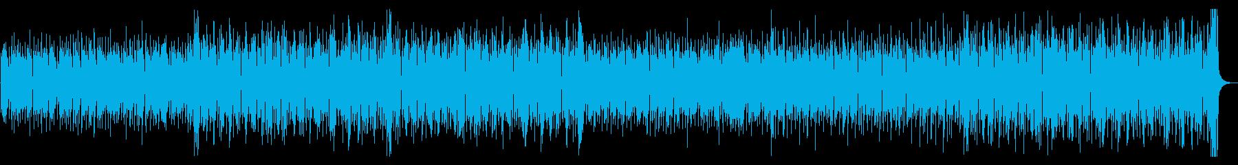 コミカルで軽快・かわいい8ビートジャズの再生済みの波形