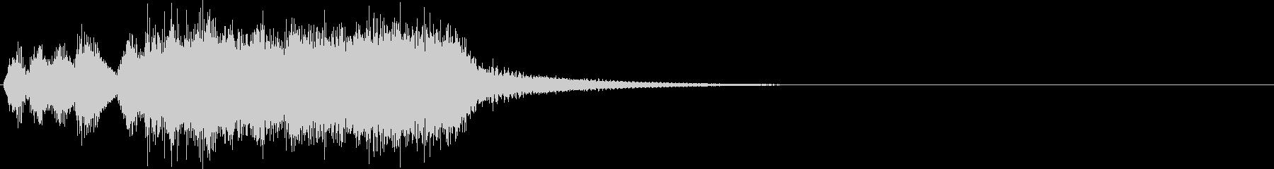 汎用22 ジャジャジャジャッジャジャーンの未再生の波形