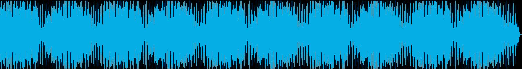 VP2 16分16bit48kHzVerの再生済みの波形