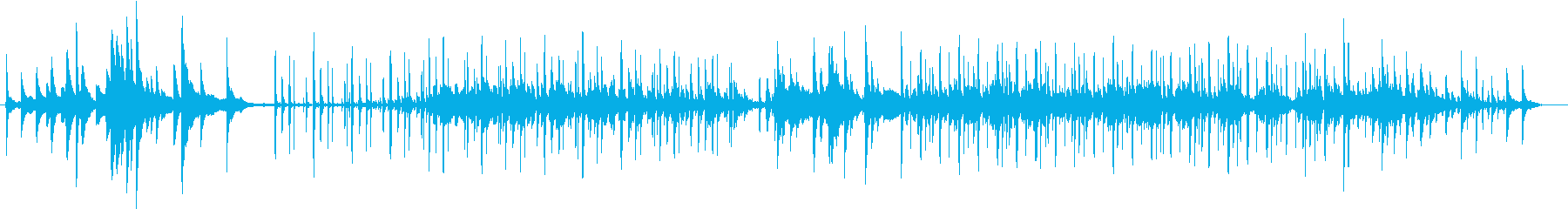 幻想的、ピアノとチェロBGM(ループ)の再生済みの波形