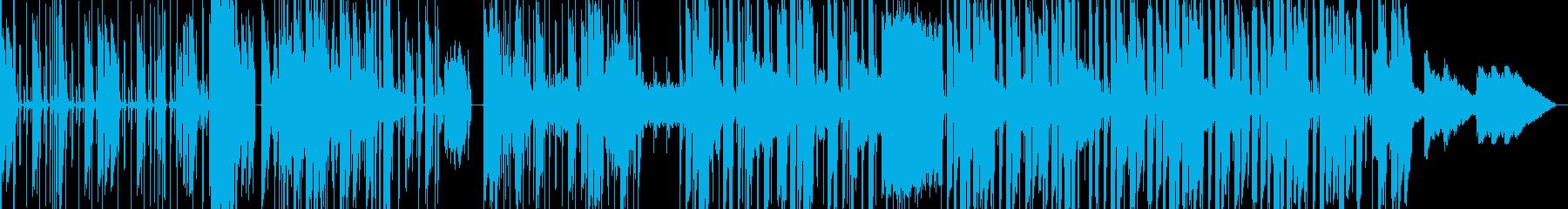 コミカルなhiphopbeatsの再生済みの波形