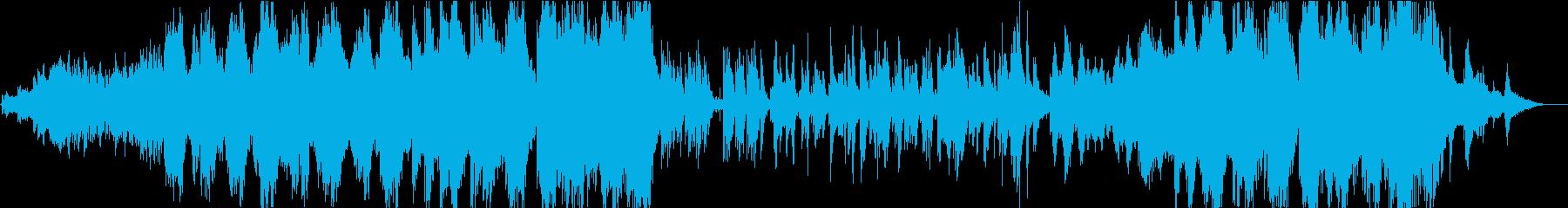 二胡が印象的な水風景を感じる楽曲の再生済みの波形