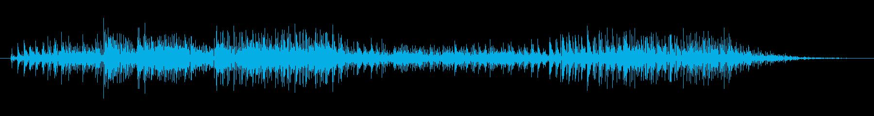 ノイズ スカットル01の再生済みの波形