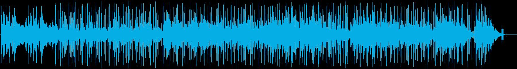 インド風BGMの再生済みの波形