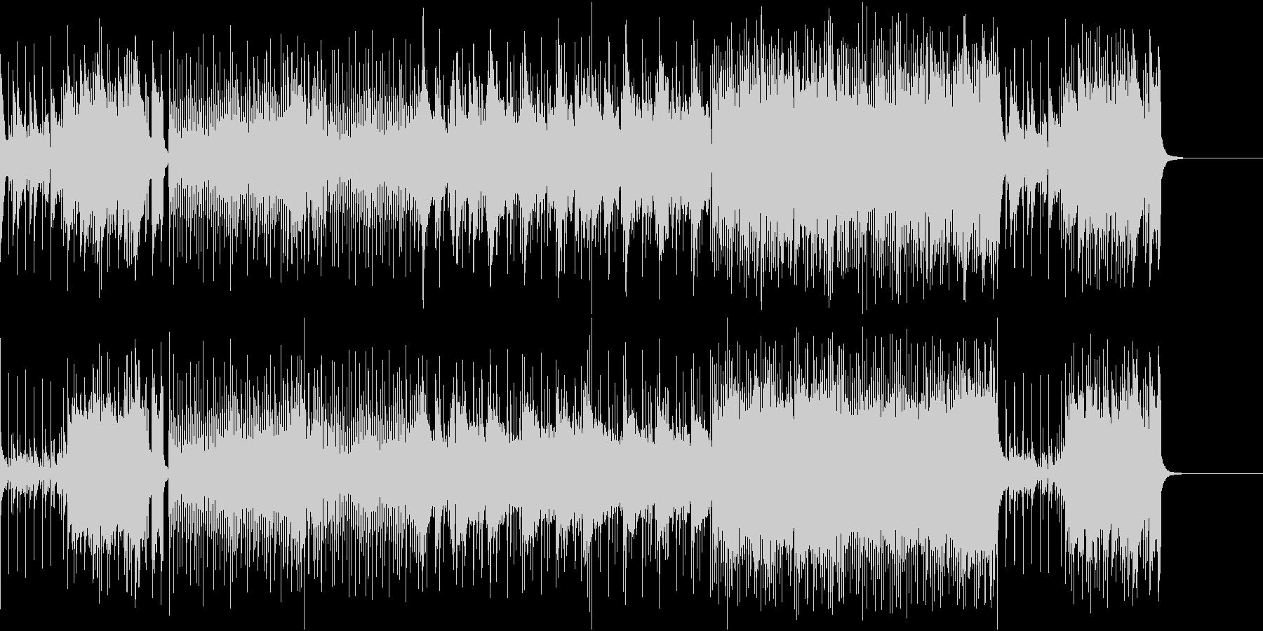 未来の拡がりと期待を描いたポップロックの未再生の波形