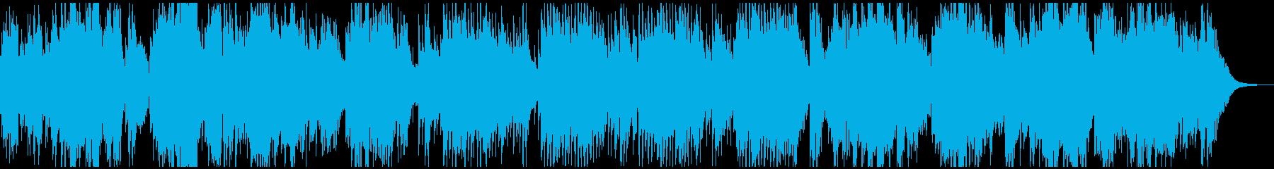生演奏フルートの爽やかアコースティック曲の再生済みの波形