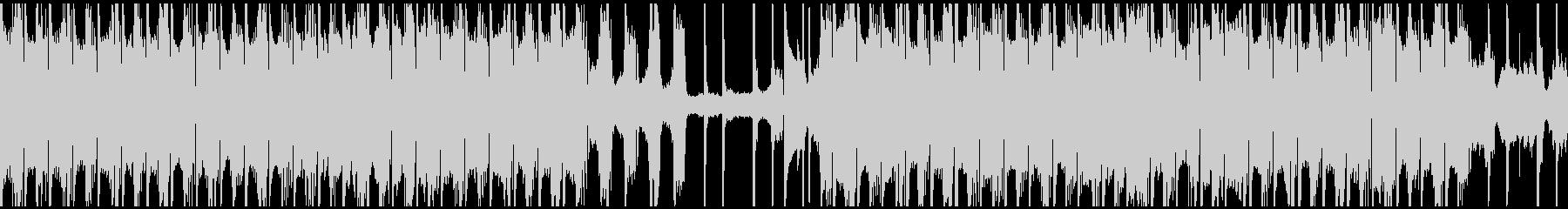 アンビエントチルハウスの未再生の波形