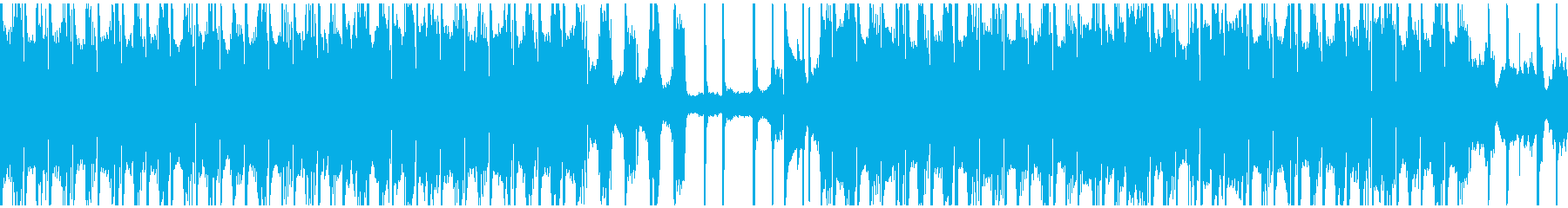 アンビエントチルハウスの再生済みの波形