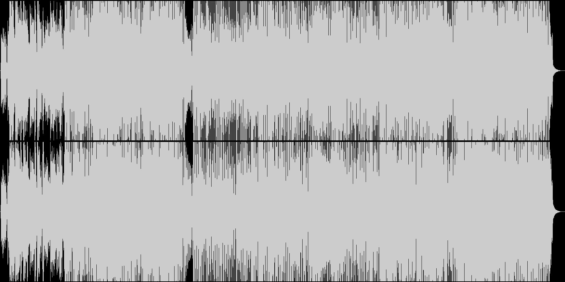 アドリブが多彩・典型的なカントリー楽曲の未再生の波形