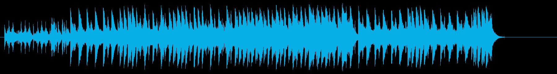 困る赤ちゃんを描いたコミカルポップの再生済みの波形
