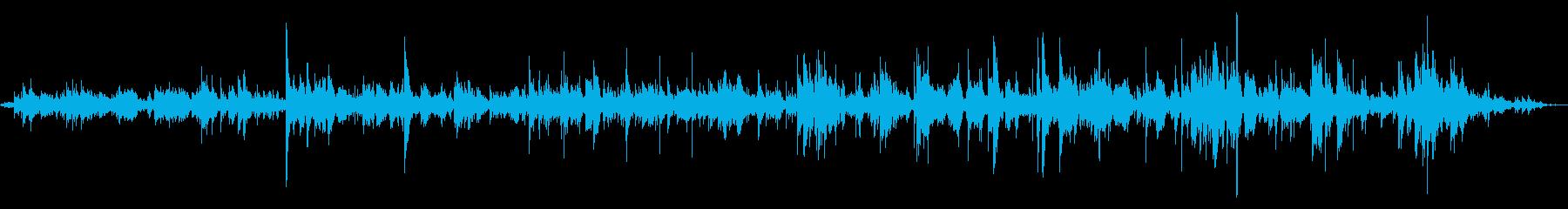 小さな鐘が鳴るの再生済みの波形