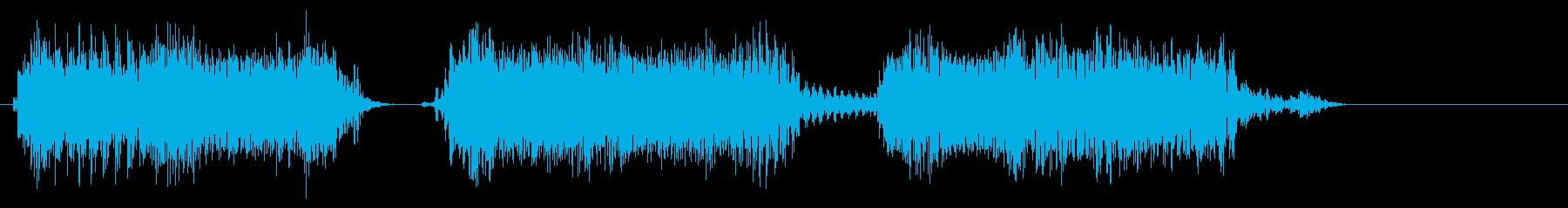 エレクトリックギター:ショートロッ...の再生済みの波形
