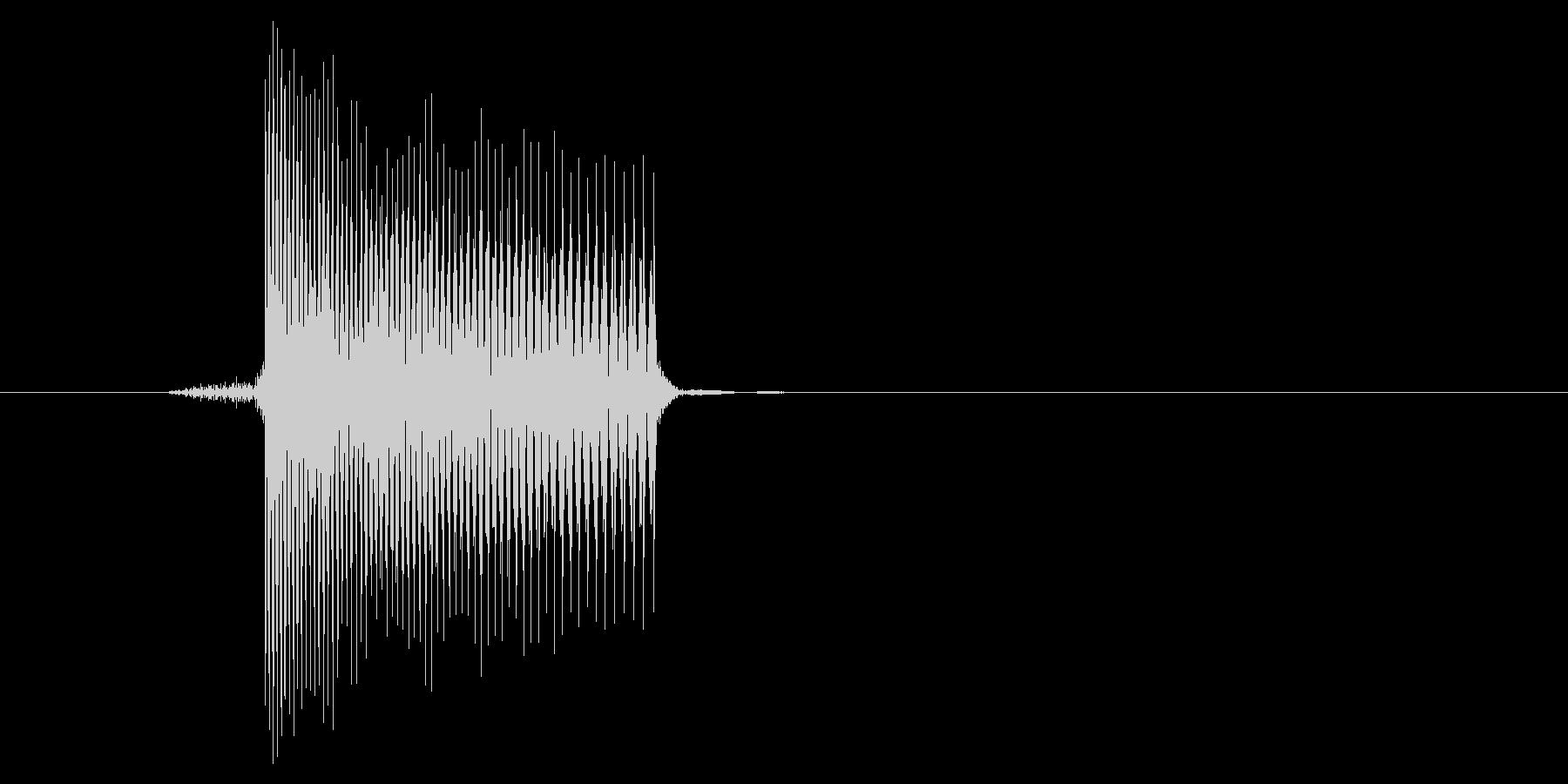 ゲーム(ファミコン風)レーザー音_003の未再生の波形