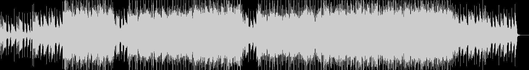 チル系、スムーズR&Bをイメージした曲の未再生の波形
