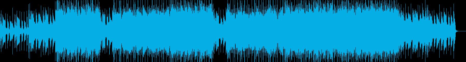 チル系、スムーズR&Bをイメージした曲の再生済みの波形