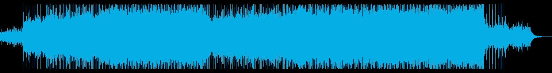 【メロディ抜き】透明感のあるポップコーポの再生済みの波形